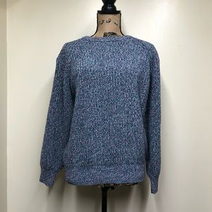Vintage Lord and Taylor Mans Shop Cotton Sweater